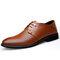 Herren Atmungsaktiv Aushöhlen Schnüren Business Formal Kleid Schuhe