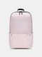 Oxford Multicolor Minimalist Stress Reliever Splashproof Breathable Outdoor Travel Backpack - Light Pink