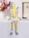 1PC Easter Bunny Gnome With LED Light Faceless Doll Easter Plush Dwarf Home Party Decorations Desk Ornament Kids Toys Pendants - Blue