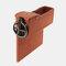 Boîte de rangement pour siège de voiture Boîte de rangement pour pièces de monnaie en cuir multifonction - Marron 2