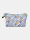 Multifunctional Portable Makeup Bag Fish Scale Women Travel Wash Storage Bag - #02