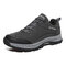 Men Outdoor Anti-collision Toe Non Slip Wearable Sole Casual Hiking Shoes - Gray