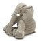 <US Instock>Large Elephant Soft Sleep Pillow Animals Plush Toy For Baby Sleep Cushion - Gray