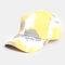 Unisex Tie-dye Cotton Multi-color Gradient Color Sunscreen Visor Sun Hat Baseball Hat - #02