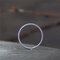 Vintage 925 Silver Twist Ring Extra-Fine Women Mix-Match Tail Ring Jewelry Gift - Silver