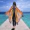 女性のためのハロウィーンギフトファッションバタフライウィングビーチタオルケープスカーフクリスマスハロウィーンギフト - #12