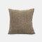 Couleur unie oreiller coussin salon canapé coussin plaine moderne minimaliste chevet taille taie d'oreiller - café