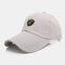 Men Sunscreen Outdoor Fishing Travel Casual Broad Brim Visor Sun Hat Baseball Hat - Beige