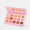 15 Colors Pearly Polarized Eyeshadow Palette Long Lasting Glitter Eyeshadow Matte Shimmer Palette - Pink