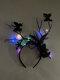 Halloween Luminous Branch Hair Accessories Butterfly Flower Christmas Headband - #04