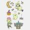 Halloween Luminous Tattoo Children Cartoon Stickers Body Art Waterproof Fake Temporary Tattoo Transfer Paper - 02