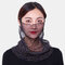 Polka Dot Floral Breathable Printing Masks Neck Protection Sunscreen Ear-mounted Scarf - #03
