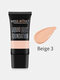 9 Colors Face Liquid Foundation Full Coverage Waterproof Facial Concealer Cream - Beige 3