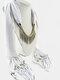 20 Colors Bohemian Women Scarf Necklace Shawl Autumn Winter Tassel Pendant Necklace - #03