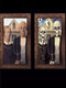 1 PC Halloween Room Bar Decorative 3D Horror Characters Dress Up Photo Frame Picture Album Decoration Props - #09