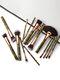 15 Pcs Makeup Brushes Set Contour Concealer Eyeliner Brush Beauty Makeup Tools - #01