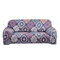 1/2/3/4 Seats Elastic Stretch Sofa Armchair Cover Couch Slipcover Bohemian Pattern Stretch All-Inclusive Sofa Cover - #3
