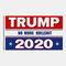 90 * 150 سم علم ترامب 2020 علم الحملة - 04