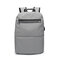 USB Charging Oxford Plaid Backpack Casual Computer Bag For Men