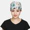 Surgical Cap Scrub Caps Dustproof Cotton Printed Beautician Hat  - 01