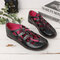 Large Size Comfy Breathable Hollow Strappy Flats