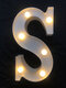 LED English Letter And Symbol Pattern Night Light Home Room Proposal Decor Creative Modeling Lights For Bedroom Birthday Party - #19