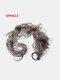 14 Colors Long Curly Wig Piece Disk Hair Caterpillars Hair Packs Bride Hair Extensions - #08