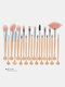20 Pcs Shell Makeup Brushes Set Concealer Eyeshadow Loose Powder Brush Brush Pack Makeup Tool - #12