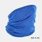 Windproof Sunscreen Dust Mask Headgear Hat - Blue