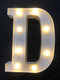 LED English Letter And Symbol Pattern Night Light Home Room Proposal Decor Creative Modeling Lights For Bedroom Birthday Party - #04
