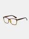 Unisex Square PC Full Frame Anti-Blue Ray Fashion Glasses - #03