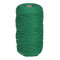 1Pc 200mx3mm Color Cotton Rope Cotton Thread Braiding Rope Hand DIY Decorative Rope Tapestry Weaving Rope - Green