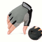 Men's Women Half Finger Gloves Outdoor Tactical  Multifunction Climbing Cycling Antiskid Mittens - Grey