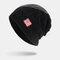 Men Wool America Flag WInter Keep Warm Beanie Skull Cap Woolen Knit Cap - Black1