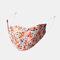 Multicolor Cotton Floral Mask Vintage Print Face Mask - #12