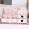 كوريا دي خشبي ماكياج المنظم تخزين مربع تخزين الحاويات
