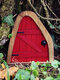 1 PC Wooden Handmade Multicolor Cute Miniature Fairy Gnome Dwarf Gate Landscaping Yard Garden Tree Decor Ornament - #06