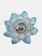 1PC LED Lotus Solar Energy Light Waterproof Eco-friendly Long Working Time Home Garden Yard Lawn Decoration - Blue
