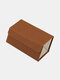 2/3/4/5/6 Grids Father's Day Gift Multifunctional Foldable Sunglasses Storage Case PU Leather Durable Door Hanging Glasses Case - #08