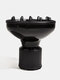 Professional Hair Diffuser Accessories Curly Hair Natural Wavy Hair Blow Dryer Diffuser  Styling Tool - Black