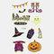 Halloween Luminous Tattoo Children Cartoon Stickers Body Art Waterproof Fake Temporary Tattoo Transfer Paper - 24