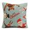 45X45cm Christmas Fashion Cotton Linen Pillow Case Santa Claus Snowmen Gift Home Decor - #2