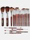 22 Pcs Makeup Brushes Set Eye Shadow Foundation Blush Blending Beauty Makeup Brush Tool - #10