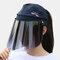 COLLROWN Women's Sun Hat Anti-UV Visor Anti-fog - Navy