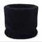 Unisex Solid Color Winter Velvet Thick Windproof Warm Vintage Outdoor Ski Cycling Scarf - Black