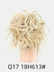 41 Colors Chicken Tail Hair Ring Messy Fluffy Rubber Band Curly Hair Bag Wig - 15