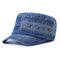 Men Vogue Cotton Flat Cap Sunshade Casual Outdoors Simple Adjustable Hat