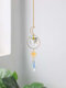 1 PC Sun Catcher Crystal Chandelier Ornament Aurora Wind Chimes with Prismatic Pendant Elegant Rainbow Maker Home Decor - #08