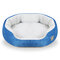 Perrera de 6 colores Shearling Fleece Pet Kennel Dog Cat Warm Round Kennel