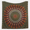 Printed Hanging Tapestry Indian Hippie Bohemian Psychedelic Peacock Mandala Wall Hanging - #1